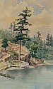 Thomas Mower Martin Rocks & Trees at Lakes Edge