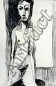 Suzanne Bergeron Female Nude, Suzanne Bergeron, Click for value