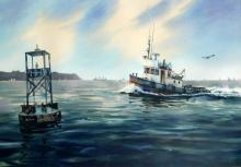 Marke Simmons - Tug Boat in Gulf