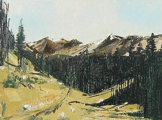 Hambleton, Canadian, oil of Mt. Revelstoke