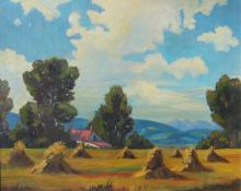 Roland Gissing Paintings for Sale | Roland Gissing Art Value Price Guide