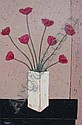 Edwards Canadian acrylic favourite flowers, David J. Edwards, Click for value