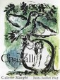 March Chagall The Green Bird (Galerie Maeght Juin-Juillet 1962)