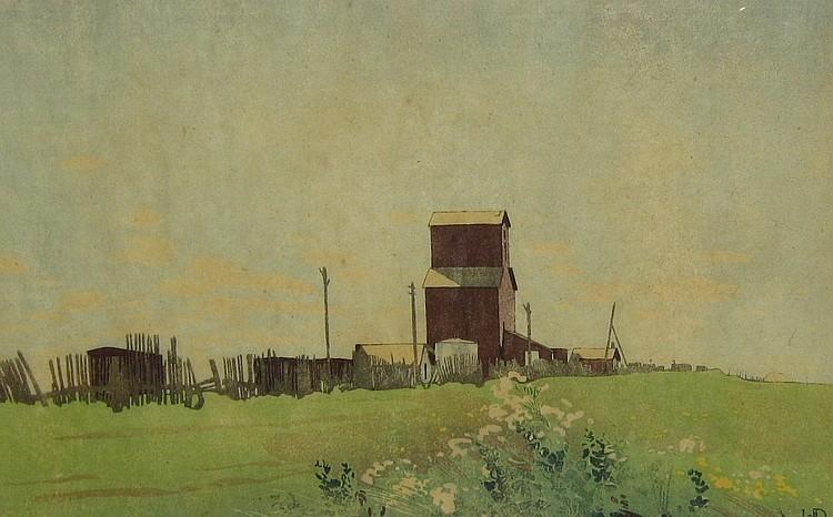 W.J. Phillips Grain Elevator at La Salle, Manitoba