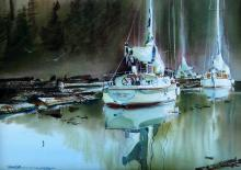 Marke K. Simmons - On the Booms, West Bay, Gambier Island