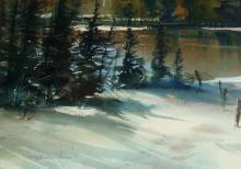 Marke Simmons - Dormant Birches; High Coater