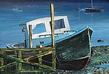 Laslo Feher Beached Boat