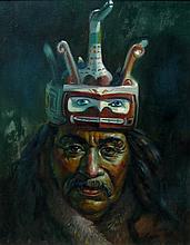 Ernesto Zapeda Kwakiutl Man