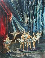 Geza Pogany Ballet Rehearsal