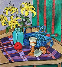 Diane Adolph Yellow Lilies