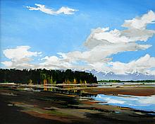Allan Dunfield October Shores, Qualicum Beach, V.I.