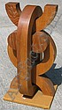 Ochs, Canadian, female form wood sculpture, Peter Paul Ochs, Click for value