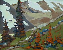 Bill Townsend Mountain Landscape