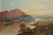 Francis Jamieson Scottish Loch Landscape