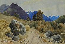 George Bruenech Near Loew, Nordfjord, Norway