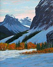 Chris MacClure First Snow, Castle Mountain