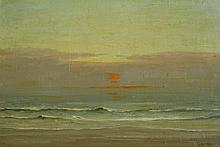 Legh Kilpin Incoming Tide (Laurentian Sunset verso)