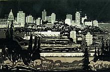 George Weber City by Night, Edmonton