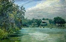 Marmaduke Matthews Humber River near Weston, 1889
