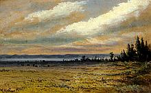 Marmaduke Matthews Landscape with Cattle by River