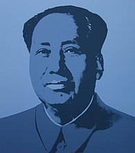 Andy Warhol (After) Mao: Set of 5 Prints