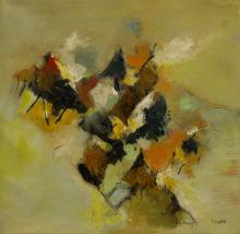 Lain Bangdel Untitled - Abstract