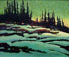 Nicholas Bott Alpine Sunset