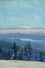 Jacqueline Hugo, Mt. Shasta from North Shore Mountains