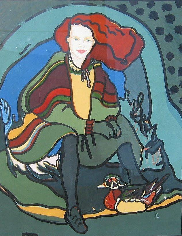 Sharon Christian Wood Ducks, 1988