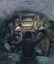 William Kurelek Story Telling: A Winter Pastime