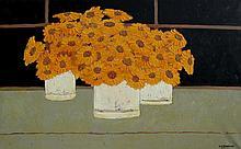 David J. Edwards Golden Gerberas