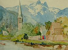 Mildred Valley Thornton North Vancouver Church below the Lions