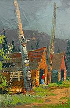 Robert Wood Totems in Indian Village