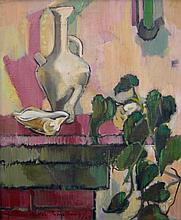 William Armstrong Still Life with Plant and Vase