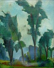 William Armstrong Treed Landscape