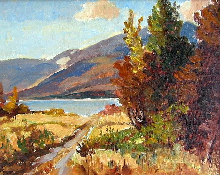 Alec Garner Near Proctoer-Kootenay Lake, B.C.
