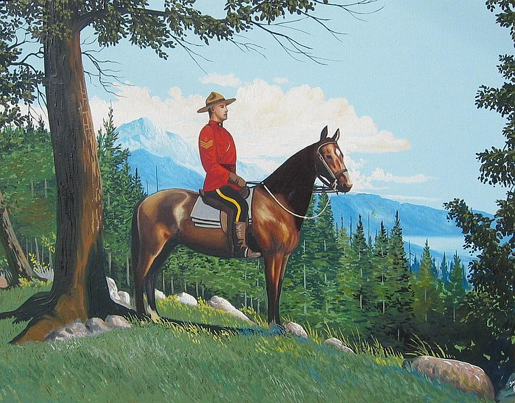 Sanford Fisher Mountie on Patrol