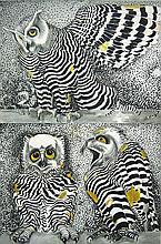 Jack Shadbolt Owl Poster