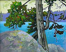 Bill Townsend, Connie's Point, Severn River, Ontario