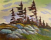 Nicholas Bott Wind, Pines & Rocks, Nicholas Johannes Bott, Click for value
