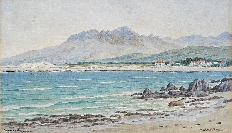 Harold Boyes, Gordon's Bay, Cape