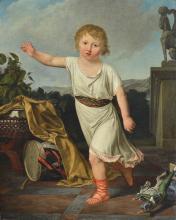Marie-Victoire Lemoine (Attr.) - Portrait Of A Child