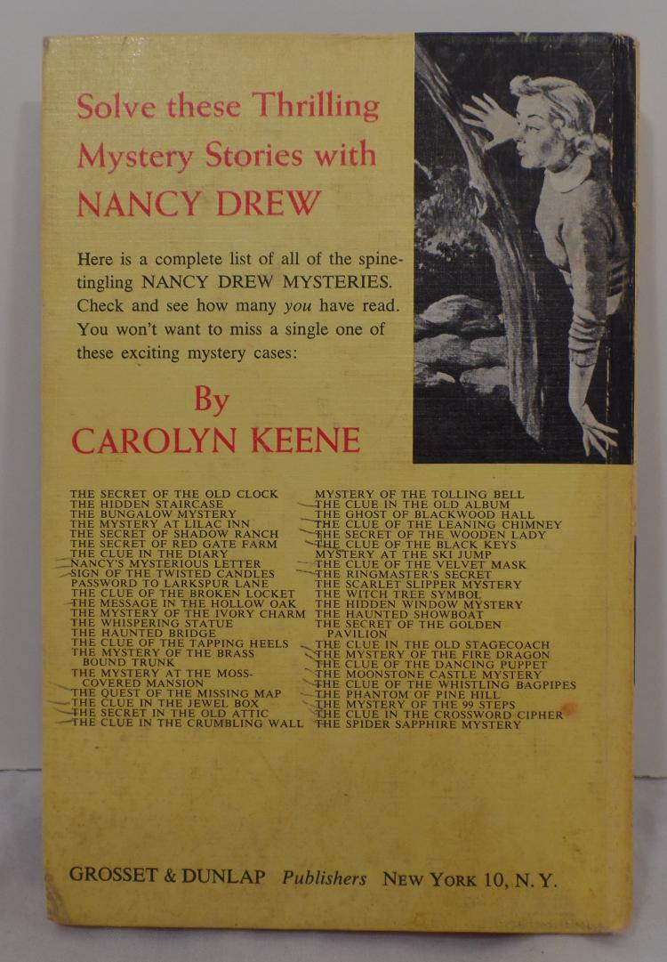 Lot of 4 NANCY DREW and THE CLUE CREW - Carolyn Keene - Mystery Series