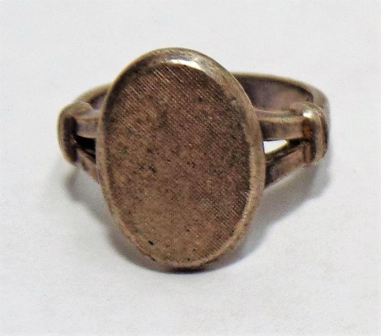 vintage sterling silver ring sted sterling on inside of