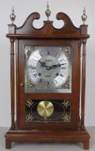 Vintage Centurion 35 Day Mantle Clock w/ Key Made in Korea - Measure 13