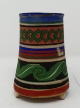 Mexican Pottery Vase Measures 5