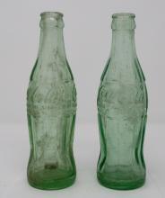 Vintage Lot Of Coca-Cola Bottles Stamped Kansas City Missouri & Owensboro Kentucky