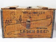 Antique Braumeister Genuine Lager Beer Crate
