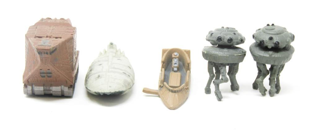 Collectible Star Wars Lot Of 5 Micro Machines - Action Fleet