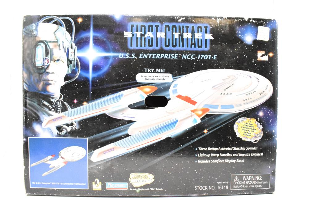 Vintage 1996 Collectible First Contact Star Trek U S S